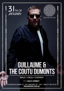 Фото GUILLAUME & THE COUTU DUMONTS live Харьков