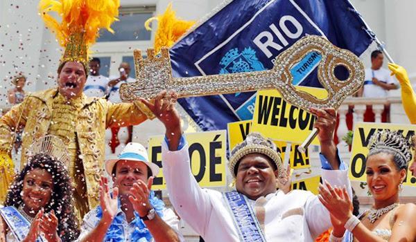 Бразильский карнавал фото