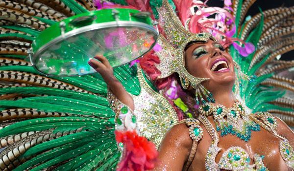 Бразильский карнавал начнется уже в марте