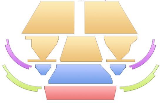 схема мест на концерт Сергея Трофимова