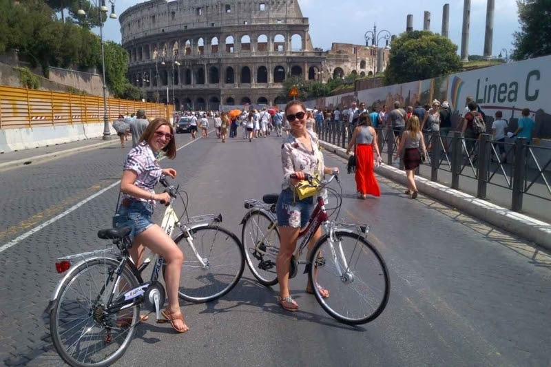 Велотур. Рим на велосипеде